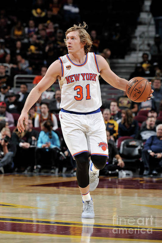 Nba Pro Basketball Art Print featuring the photograph Ron Baker by David Liam Kyle