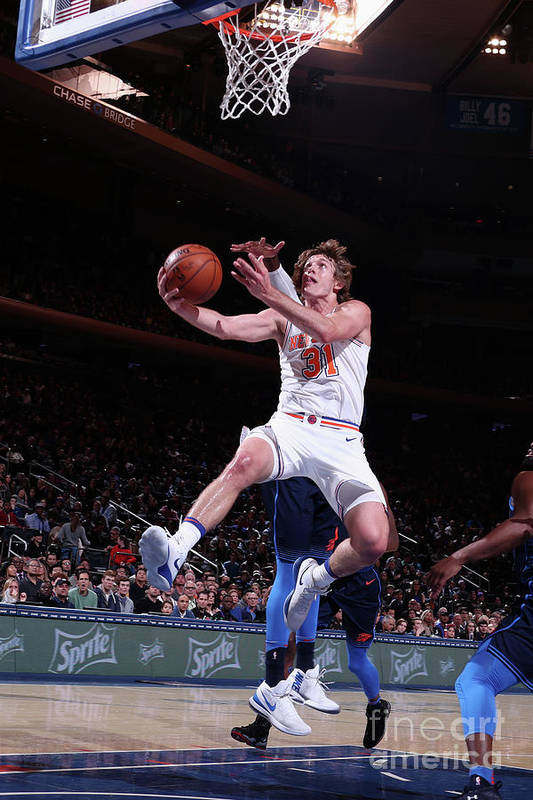 Nba Pro Basketball Art Print featuring the photograph Ron Baker by Nathaniel S. Butler