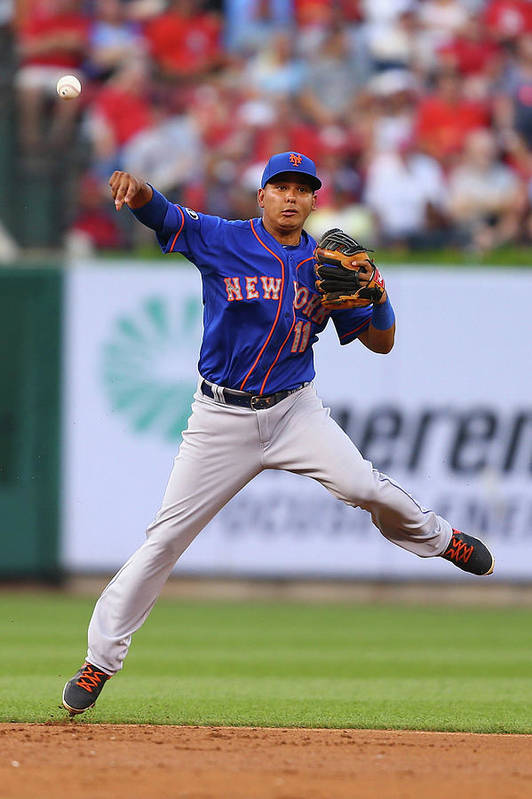 Second Inning Art Print featuring the photograph Ruben Tejada by Dilip Vishwanat