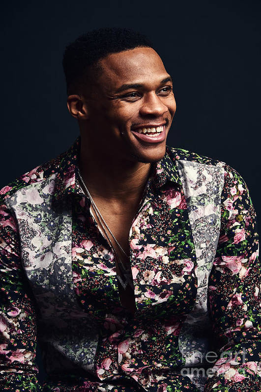 Event Art Print featuring the photograph Russell Westbrook by Jennifer Pottheiser