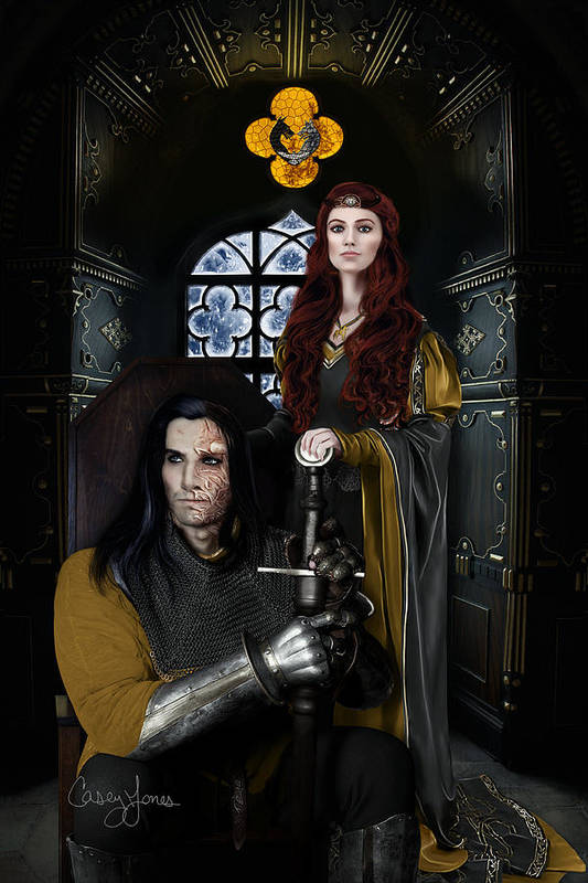 Sandor Clegane And Sansa Stark - The Sweetest Thing There Is by Casey Jones