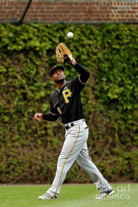 Second Inning Art Print featuring the photograph Starling Marte by Jon Durr