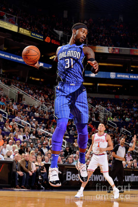 Nba Pro Basketball Art Print featuring the photograph Terrence Ross by Barry Gossage