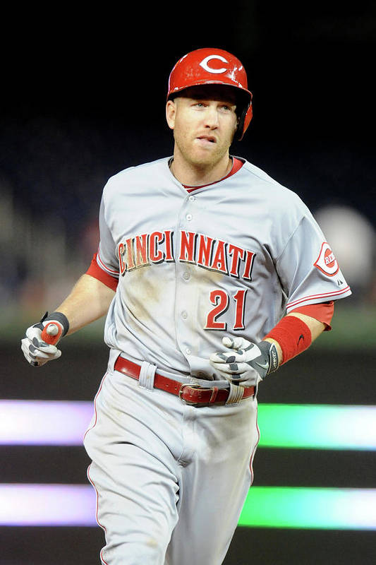 People Art Print featuring the photograph Todd Frazier by Mitchell Layton