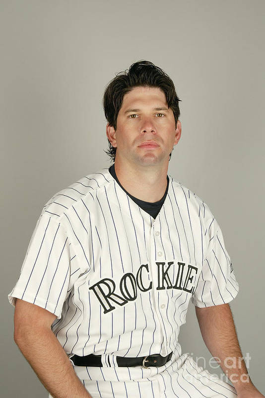 Media Day Art Print featuring the photograph Todd Helton by Harry How