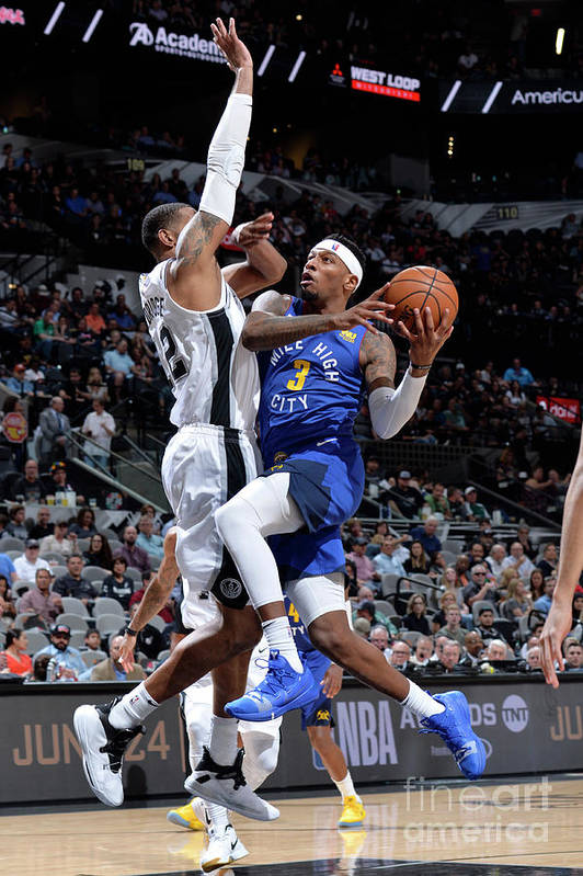 Playoffs Art Print featuring the photograph Torrey Craig by Mark Sobhani