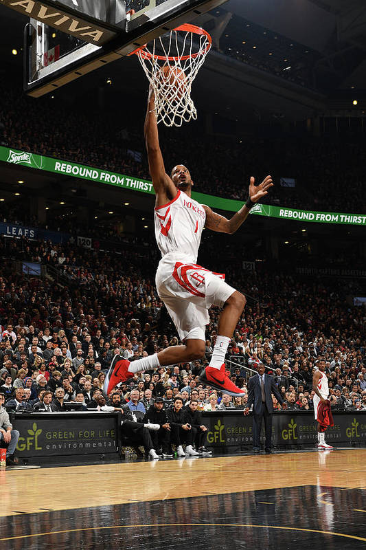 Nba Pro Basketball Art Print featuring the photograph Trevor Ariza by Ron Turenne