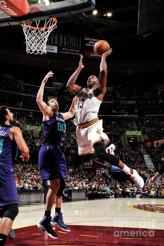 Nba Pro Basketball Art Print featuring the photograph Tristan Thompson by David Liam Kyle