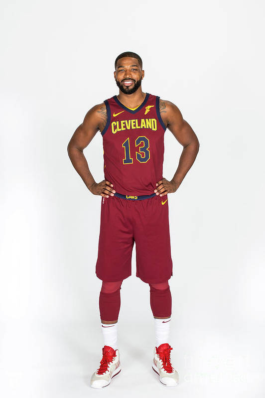 Media Day Art Print featuring the photograph Tristan Thompson by Michael J. Lebrecht Ii