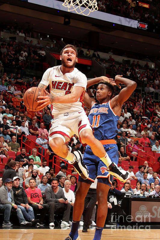 Nba Pro Basketball Art Print featuring the photograph Tyler Johnson by Issac Baldizon