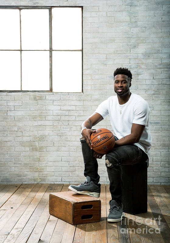Nba Pro Basketball Art Print featuring the photograph Wesley Matthews by Nathaniel S. Butler