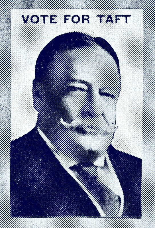 Historicimage Art Print featuring the painting 1912 Vote Taft For President by Historic Image
