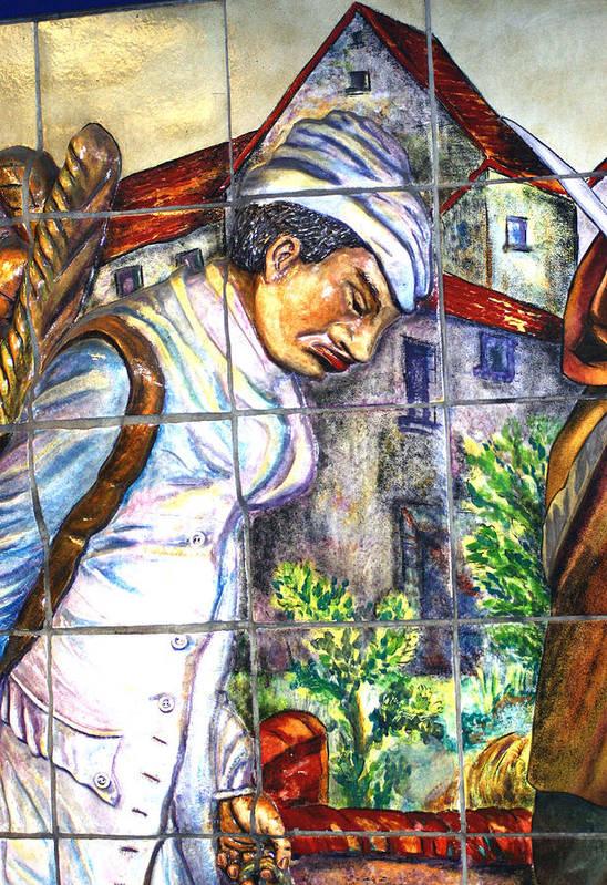 Paris Art Print featuring the photograph Bastille Metro No 3 by A Morddel