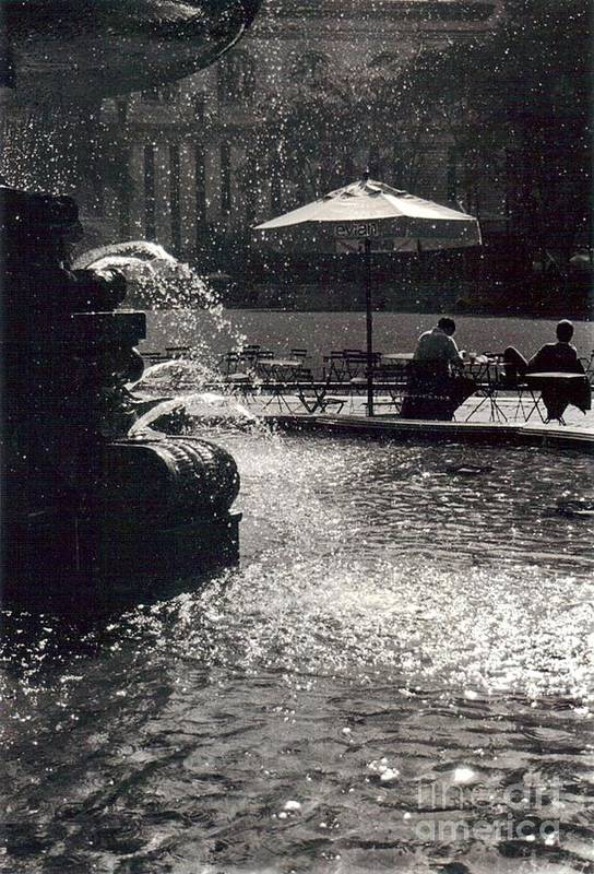 Bryant Park Print featuring the photograph Bryant Park by Christina Moreno