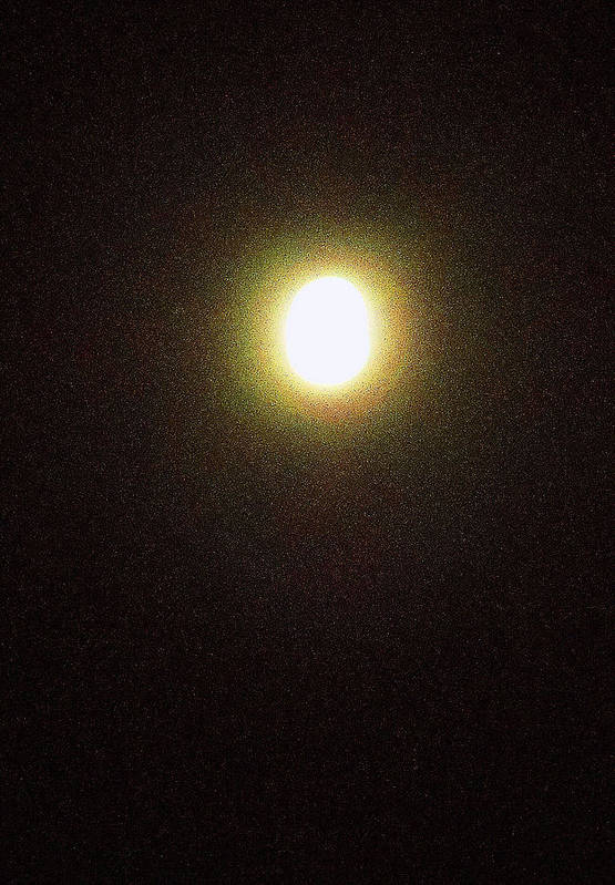 Skies Art Print featuring the photograph Full Moons 3 by Ron Kandt