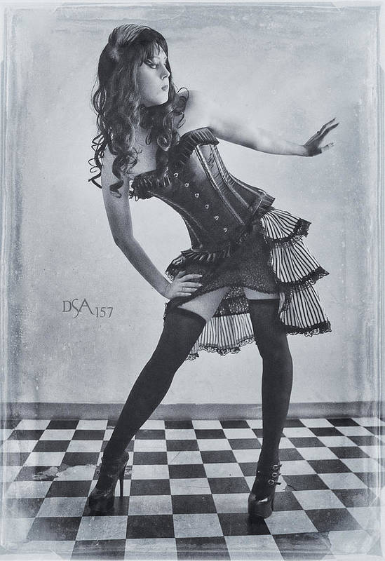 Steampunk Art Print featuring the photograph Hips Cocked by David April
