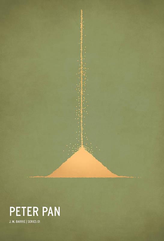 Stories Art Print featuring the digital art Peter Pan by Christian Jackson