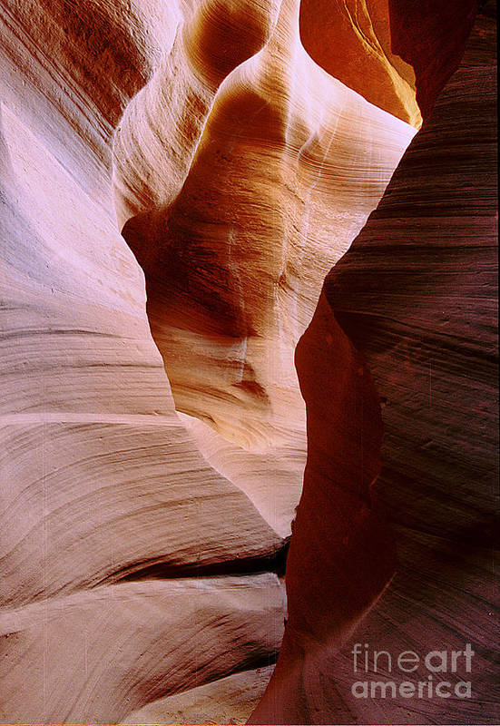 Antelope Canyon Art Print featuring the photograph Timeless by Kathy McClure