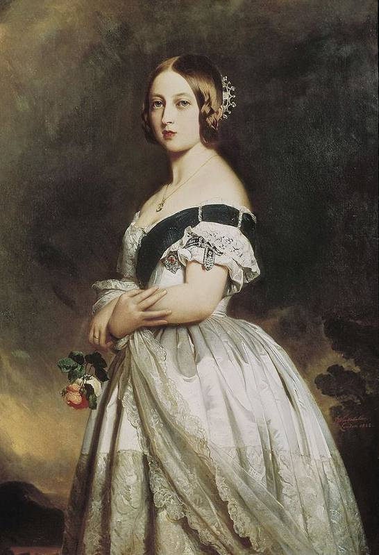 Woman Art Print featuring the photograph Winterhalter, Franz Xavier 1805-1873 by Everett