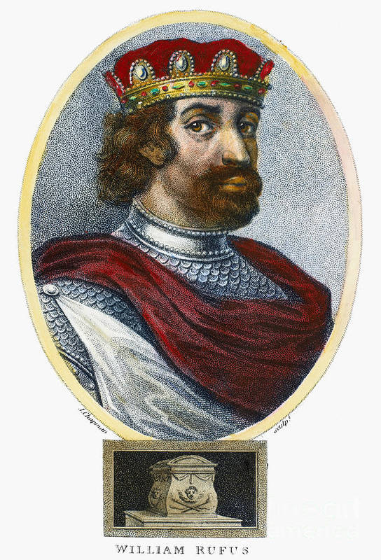 11th Century Art Print featuring the photograph William II (1056-1100) by Granger
