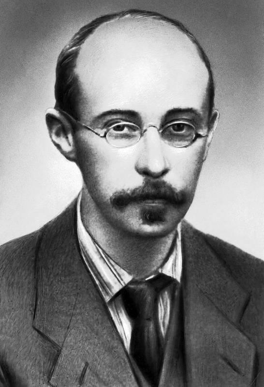 Alexander Friedman Art Print featuring the photograph Alexander Friedman, Soviet Cosmologist by Ria Novosti