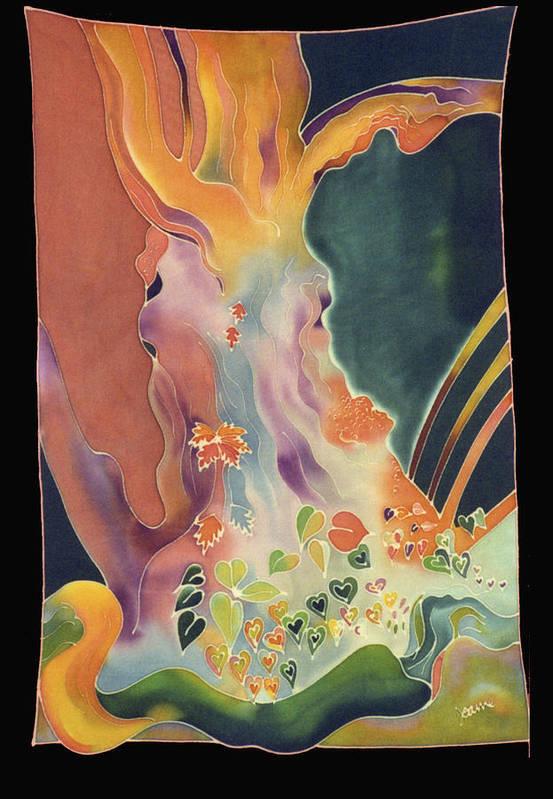 Landscape Art Print featuring the digital art Black Oak Ranch Oak by Joanie Mitchell