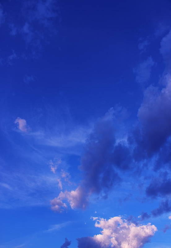 Blue Art Print featuring the photograph Blue Sky Always by Kume Bryant