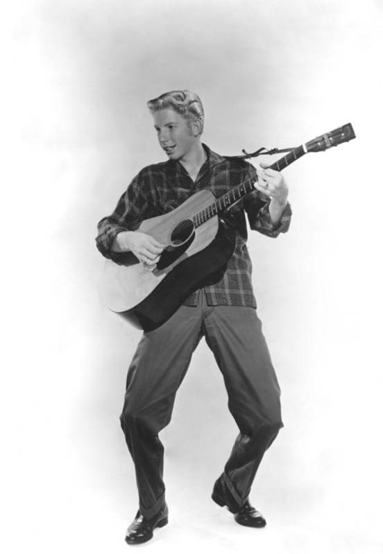 1950s Portraits Print featuring the photograph Jimmy Boyd, Ca. 1958 by Everett