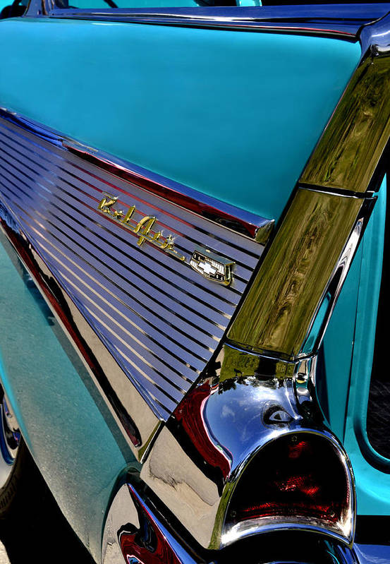 Chevy Art Print featuring the photograph 57 Chevy Bel Air by Lyle Huisken