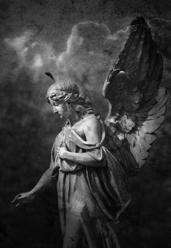Angel Art Print featuring the photograph Angel by Marc Huebner