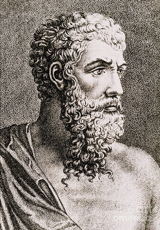 History Art Print featuring the photograph Aristotle, Ancient Greek Philosopher by Science Source