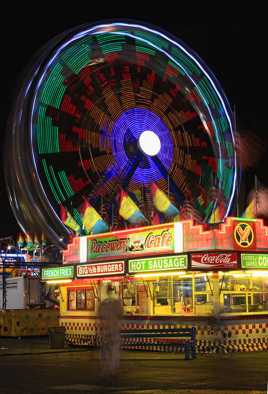 Carnival Images Art Print featuring the photograph Carnival by James BO Insogna