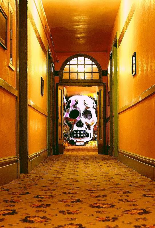 Haunted Art Print featuring the photograph Haunted Hallway by Nelson Strong