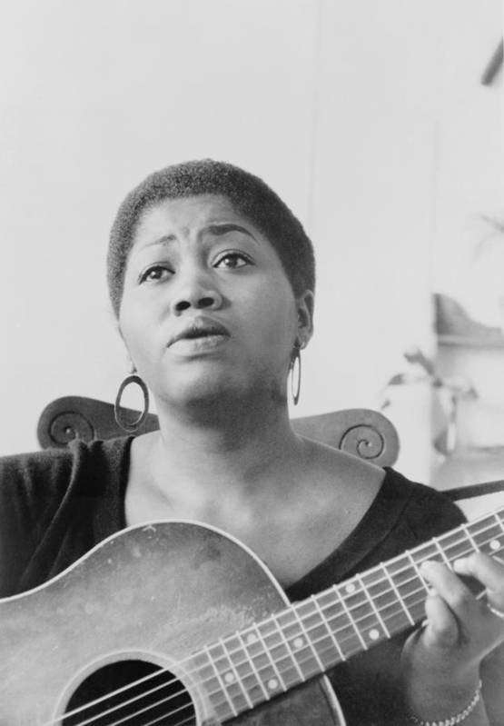 History Art Print featuring the photograph Odetta Holmes 1930-2008, African by Everett