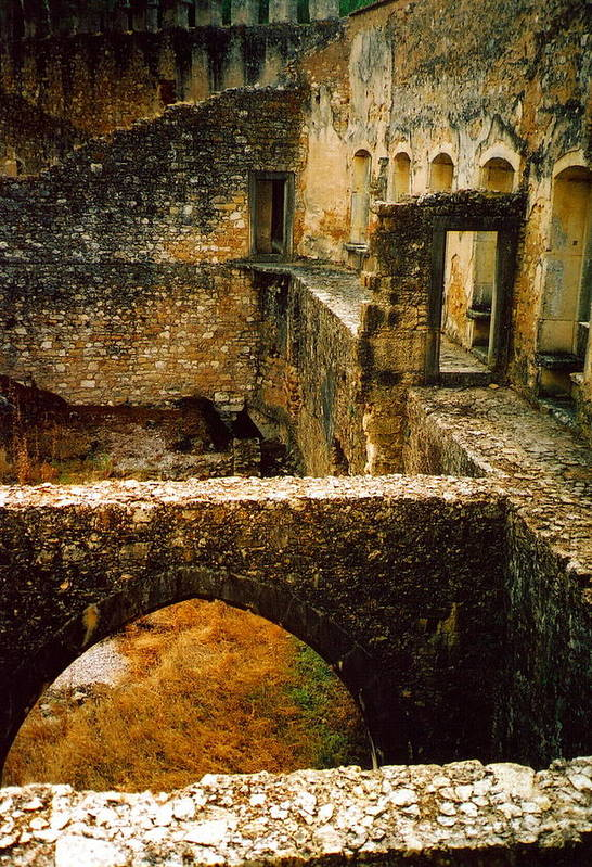 Portugal Art Print featuring the photograph Ruins by Andrea Simon