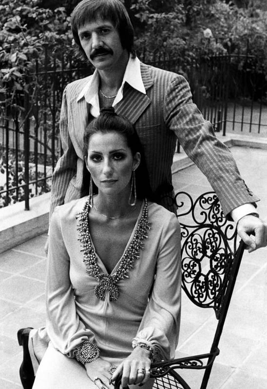 1970s Fashion Art Print featuring the photograph Sonny & Cher, Sonny Top, Cher Bottom by Everett