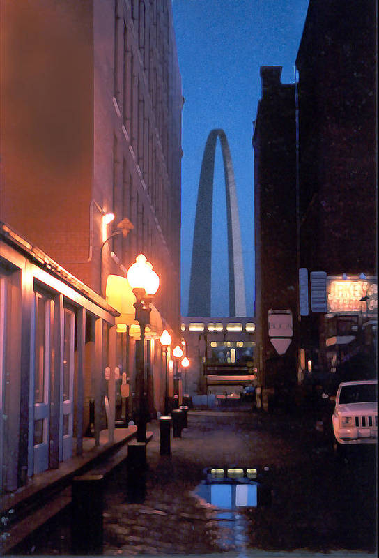 St. Louis Art Print featuring the photograph St. Louis Arch by Steve Karol