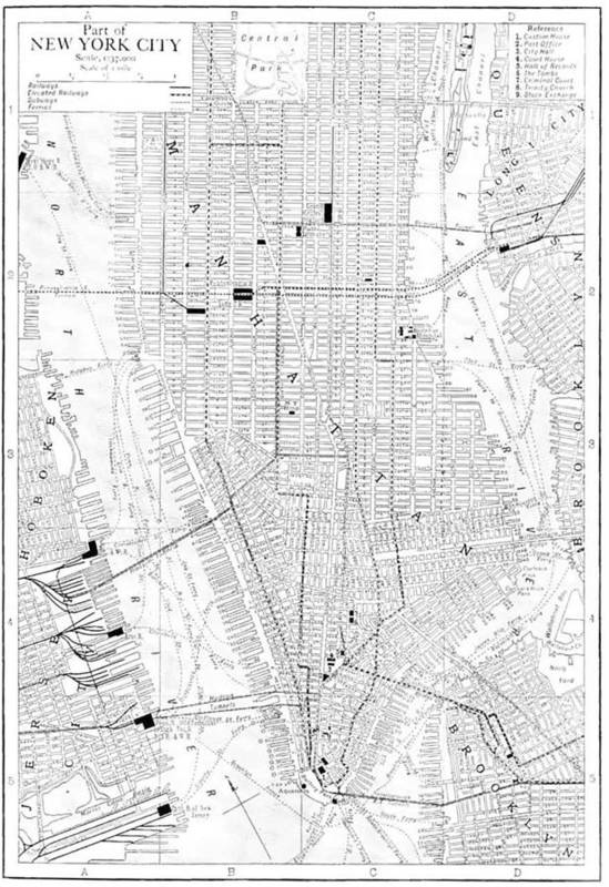 Free Printable Map Of New York City on