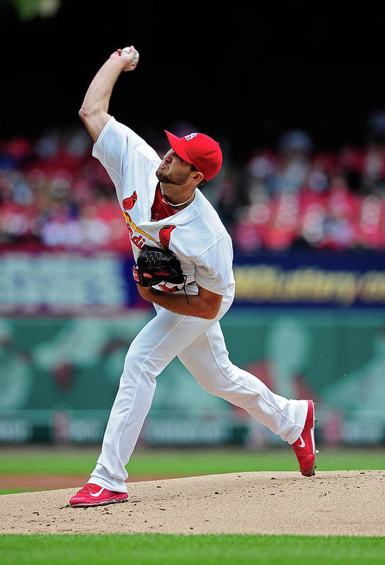 St. Louis Cardinals Art Print featuring the photograph Michael Wacha by Jeff Curry