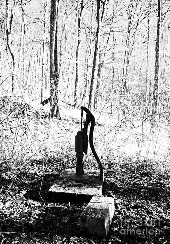 Appalachia Art Print featuring the photograph Appalachian Well Pump by R David Johnson