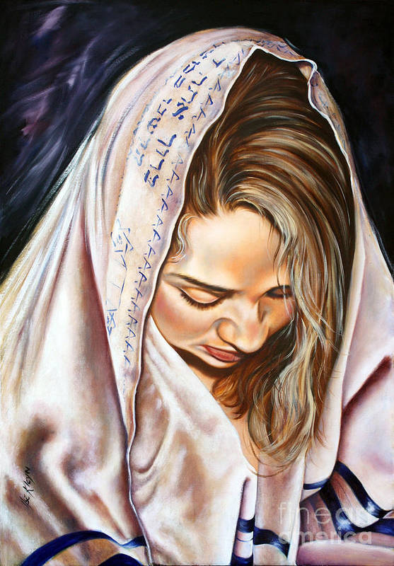Biblical Art Print featuring the painting If My People by Ilse Kleyn