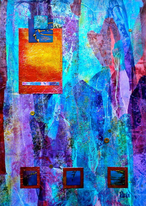 Immersion Print featuring the painting Immersion by Debi Starr