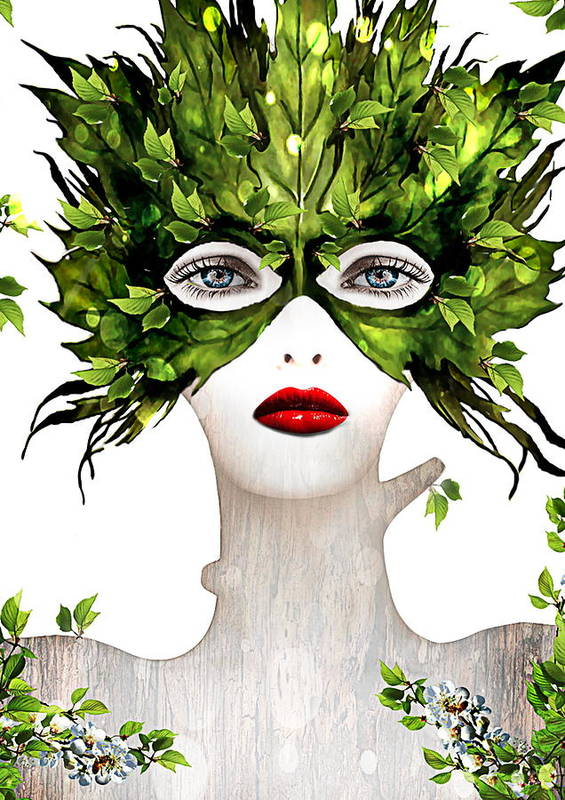 People Art Print featuring the photograph Natural Women by Yosi Cupano
