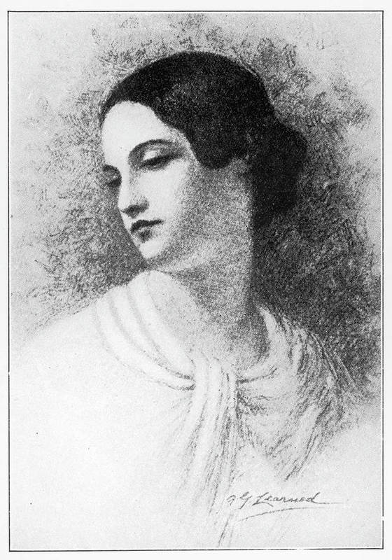 Virginia Art Print featuring the drawing Virginia Poe Wife Of Edgar Allan Poe by Mary Evans Picture Library