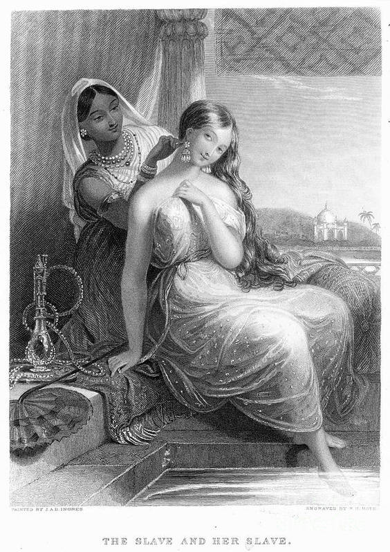 19th Century Art Print featuring the photograph Harem by Granger