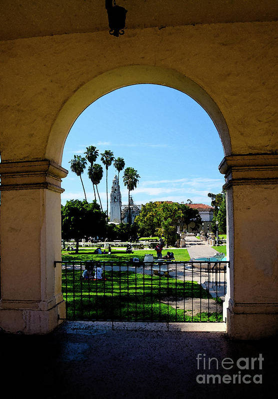 Balboa Park Art Print featuring the photograph Balboa Park by Baywest Imaging