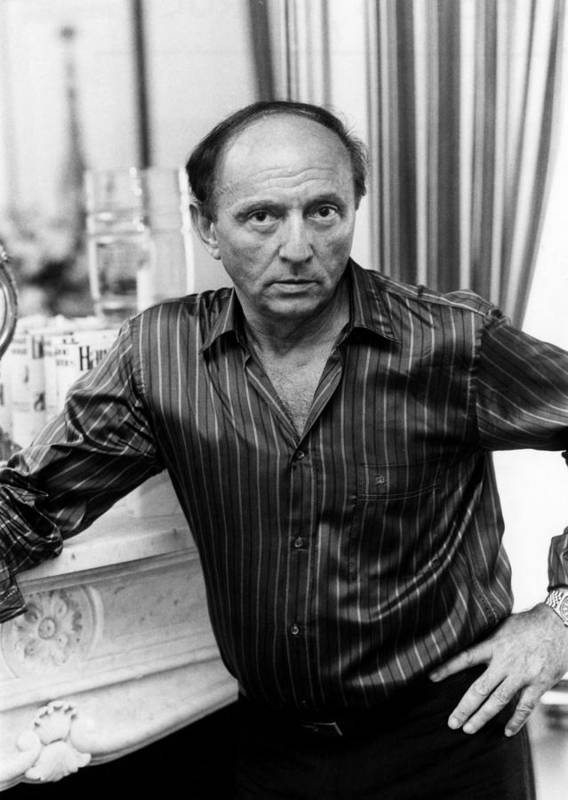 1980s Portraits Art Print featuring the photograph Harold Robbins 1916-1997, American by Everett