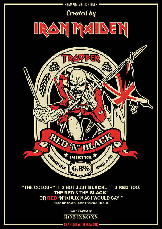 Iron Maiden Art Print by Geek N Rock