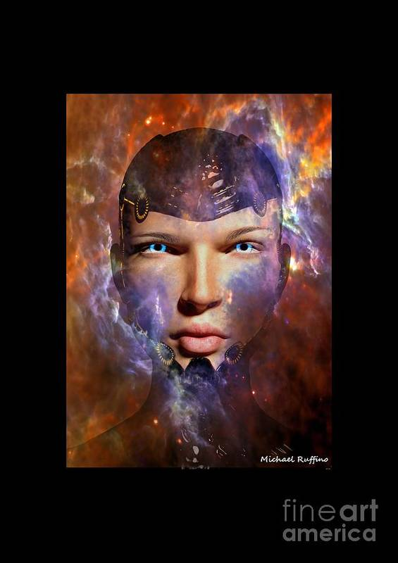 Female Art Print featuring the digital art A New Creation by Michael Ruffino