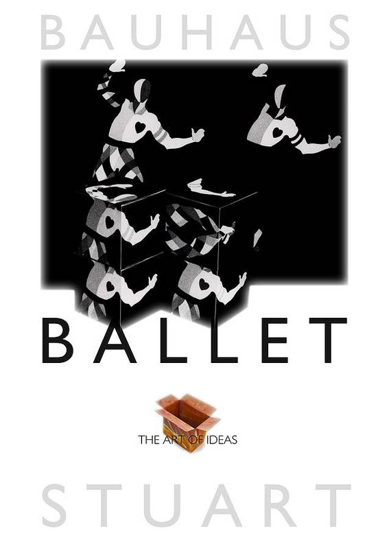 Bauhaus Art Print featuring the photograph Bauhaus Ballet Poster by Charles Stuart
